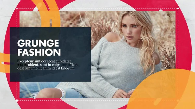 Grunge Fashion - Promo: After Effects Templates