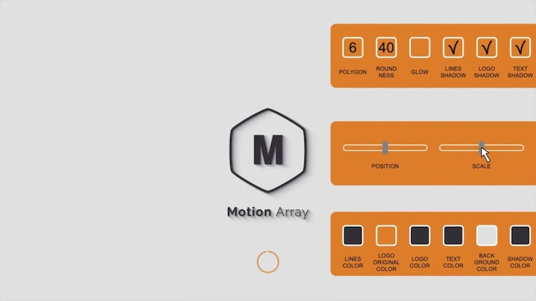 Simple Minimal Logo Reveal 1: After Effects Templates