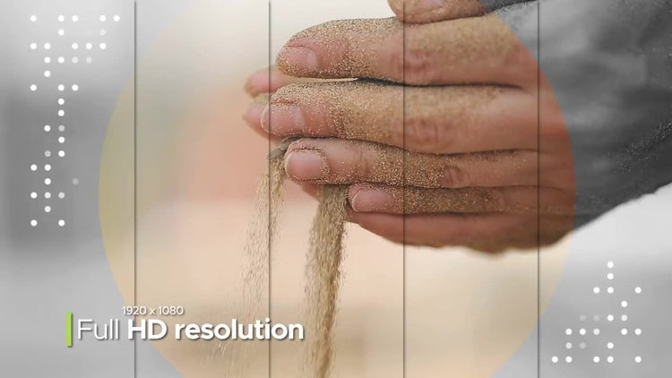 Awesome Split Slideshow: After Effects Templates