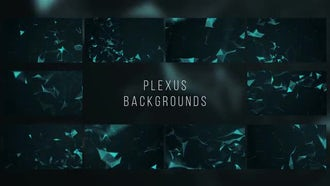 Plexus Backgrounds: After Effects Templates