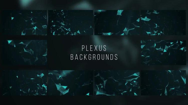Plexus Backgrounds: After Effects Templates