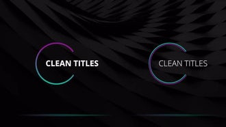 Colorful Titles: Motion Graphics Templates