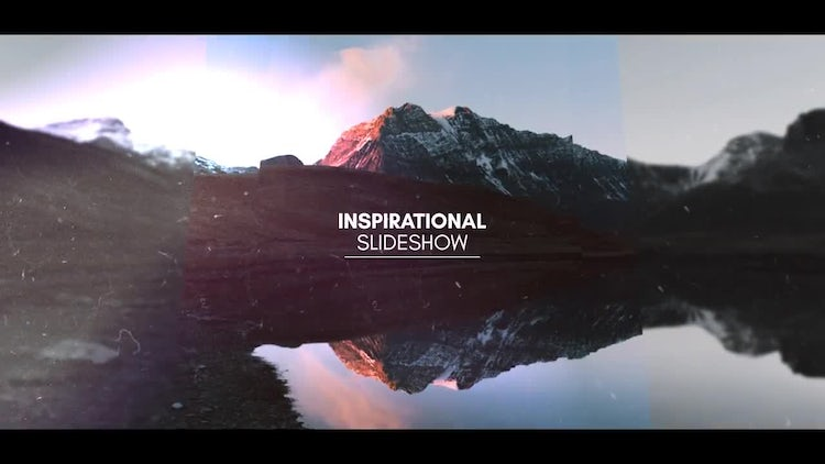 Inspirational Slideshow: After Effects Templates
