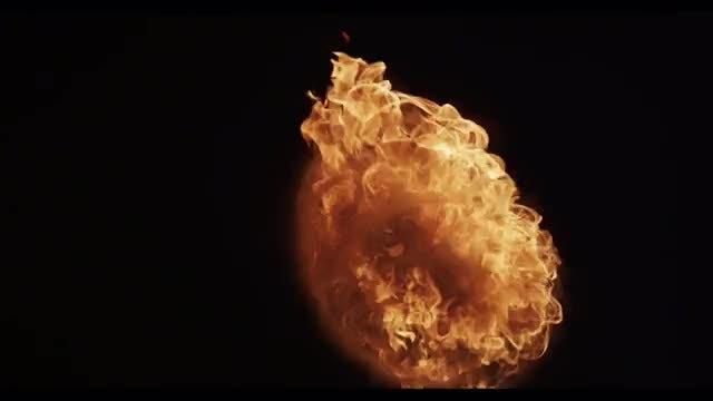 Fireball 01: Stock Video