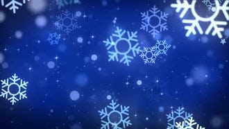 Christmas Snowflakes: Motion Graphics