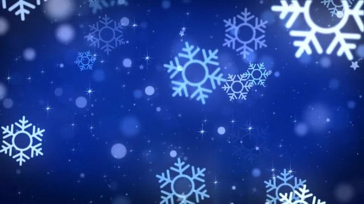 Christmas Snowflakes: Stock Motion Graphics