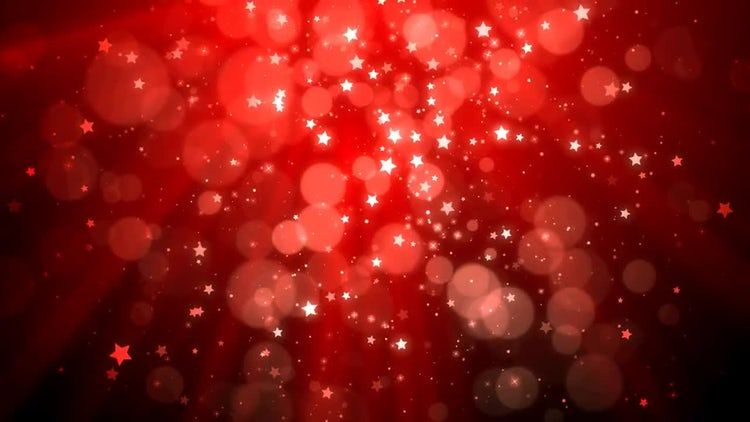 Christmas Glittering Background: Motion Graphics