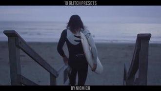 Fast Glitch Presets: Premiere Pro Templates