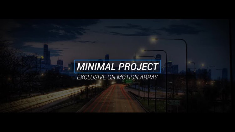 15 Minimal Titles: After Effects Templates