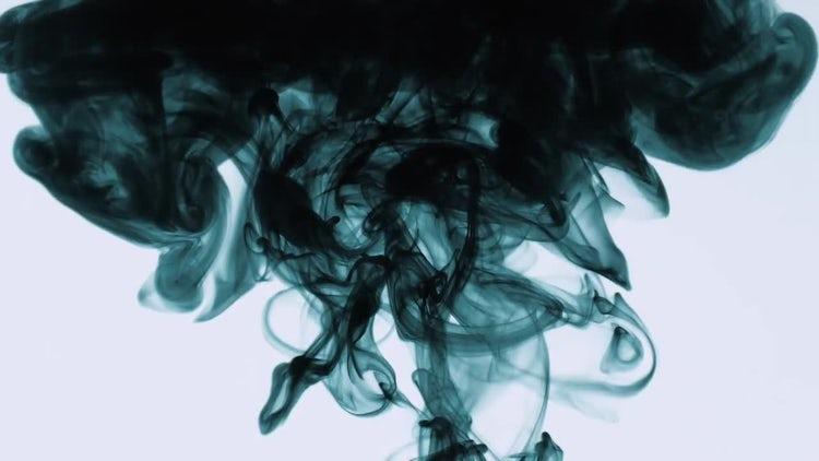 Dark Ink Splatter: Stock Video