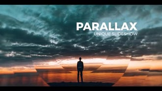 Parallax Slideshow Opener : Premiere Pro Templates