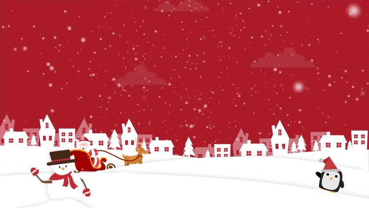 Christmas Background 2: Motion Graphics