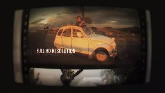 Filmstrip Slides: After Effects Templates