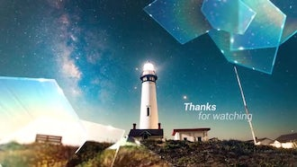 SlideShow - Crystal Glass: After Effects Templates