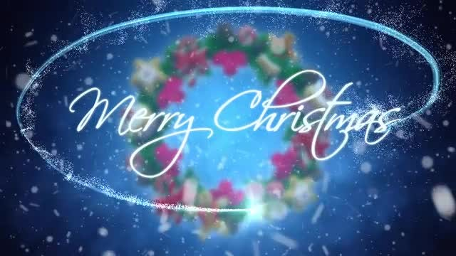 Merry Christmas: Stock Motion Graphics