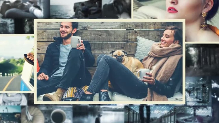 Inspiring Photo Gallery: After Effects Templates