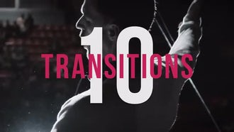 10 Transitions: Premiere Pro Templates