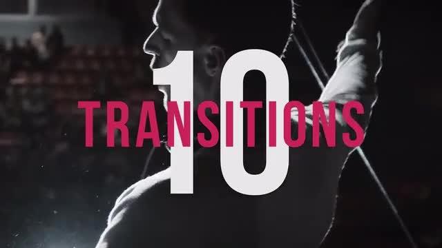 10 Transitions: Premiere Pro Templates