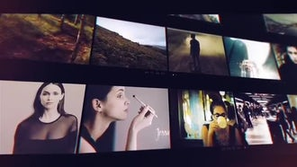 Video Frame Slideshow: After Effects Templates