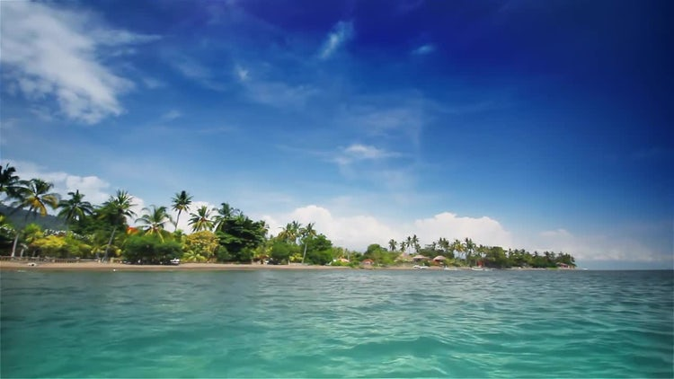 Tropical beach: Stock Video