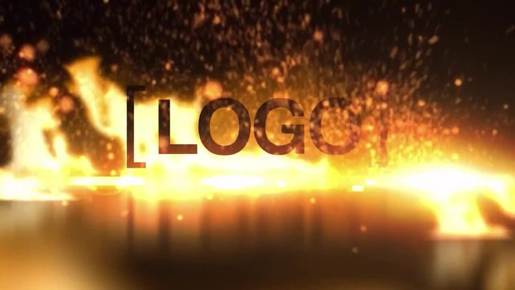Fiery Logo: After Effects Templates
