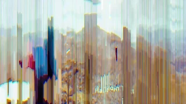 Glitch Parallax Slides: After Effects Templates