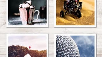 Moving Camera Slideshow: After Effects Templates