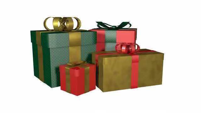 Gift Boxes: Stock Motion Graphics