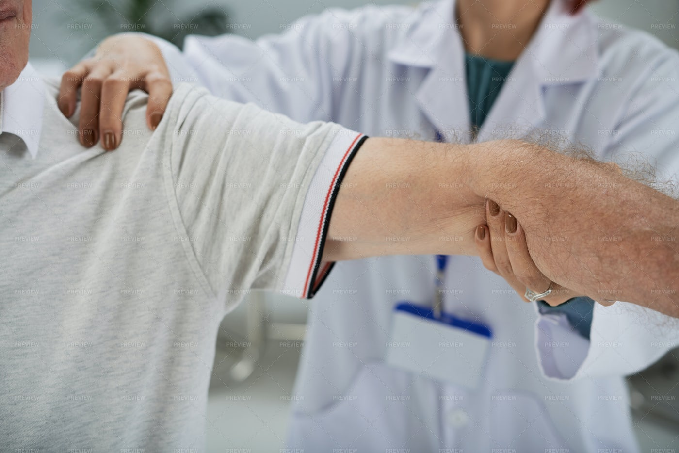Arm Treatment: Stock Photos