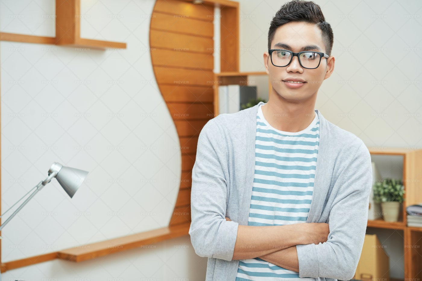 Modern Young Ethnic Businessman: Stock Photos
