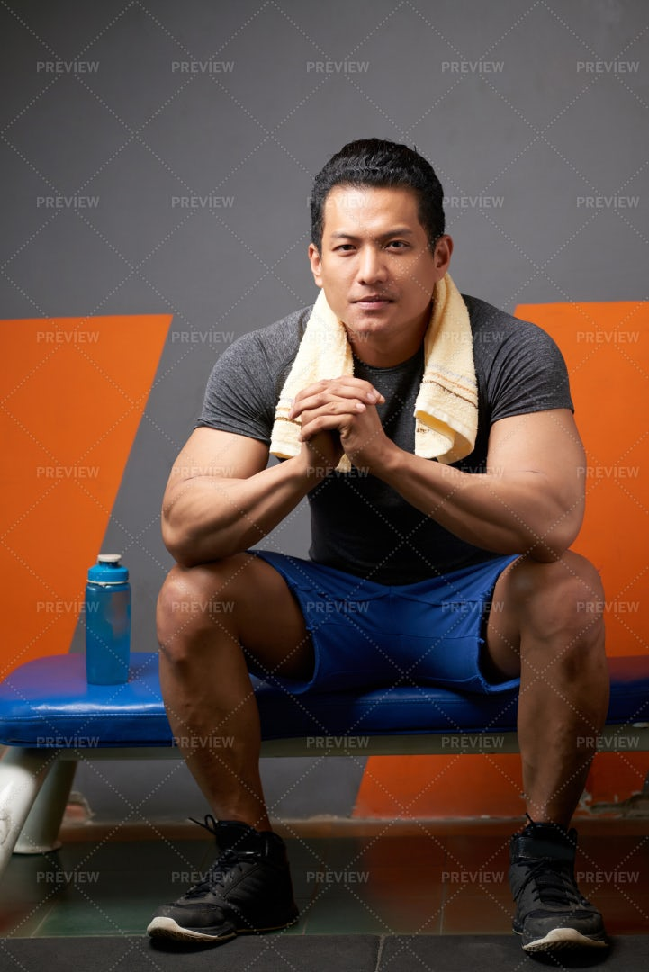 Professional Fitness Trainer: Stock Photos