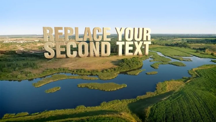 Aerial 3D Titles: After Effects Templates