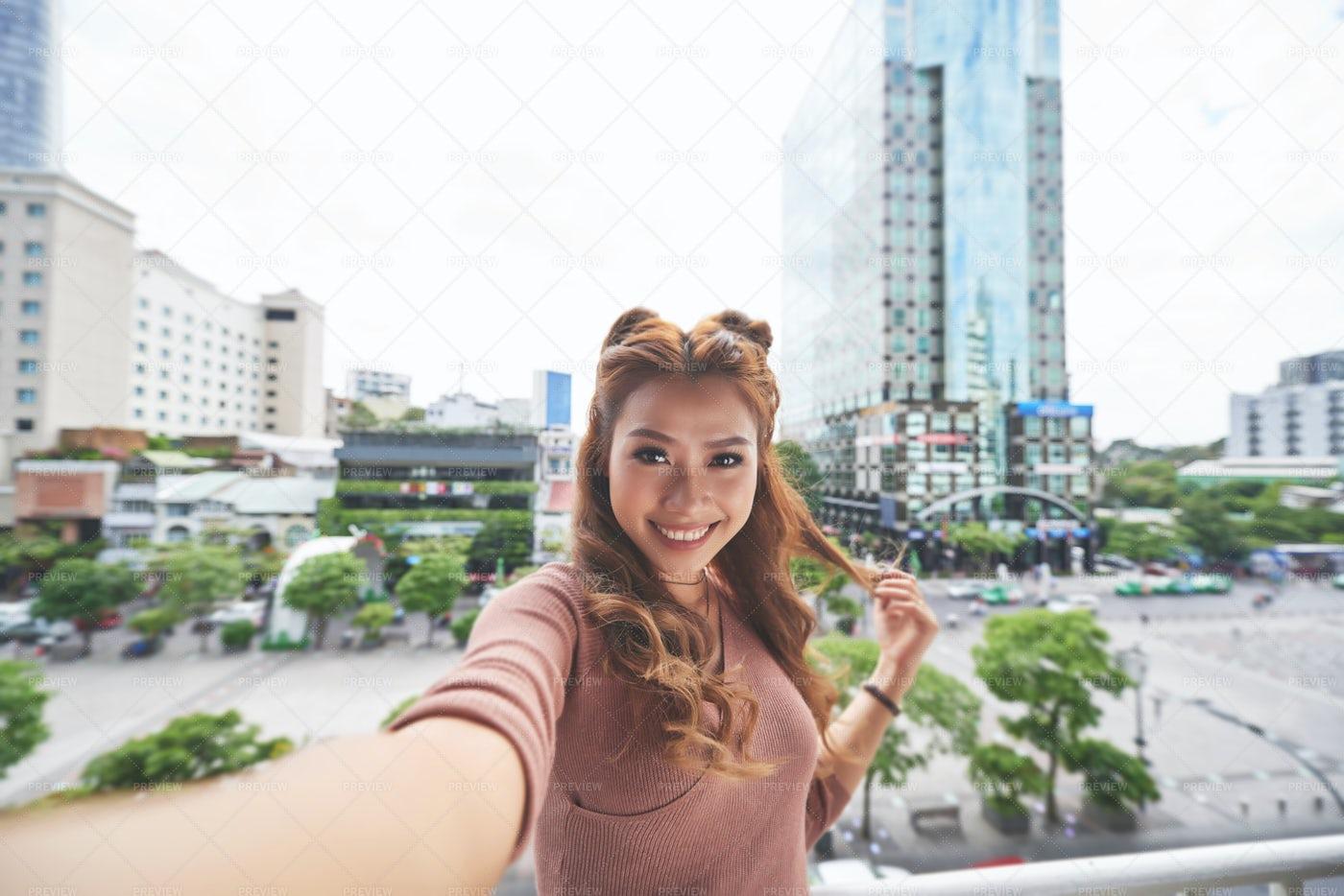 Female Tourist: Stock Photos