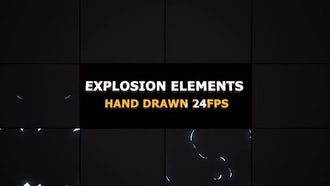 Flash FX Explosion Elements: Motion Graphics