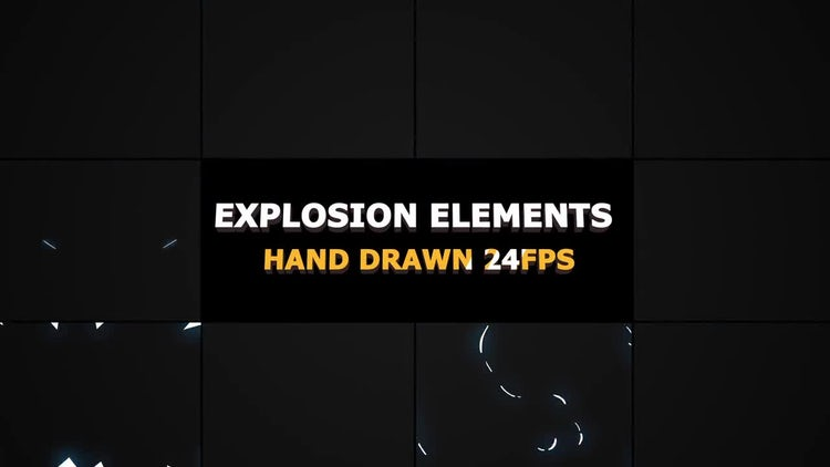 Flash FX Explosion Elements: Motion Graphics