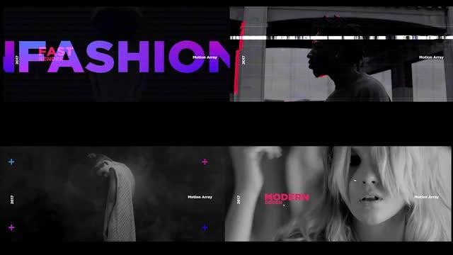 Neon Glitch Opener: Premiere Pro Templates