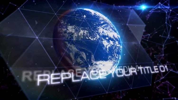 Space Of Plexus: After Effects Templates