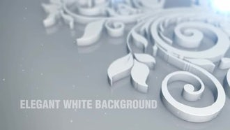 Elegant White Background: Motion Graphics