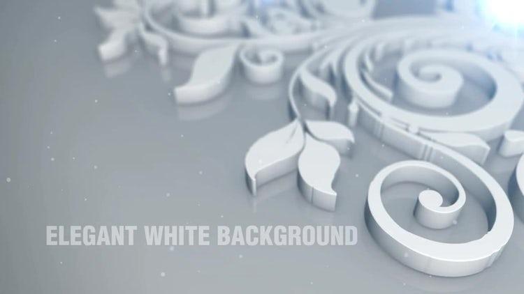 Elegant White Background: Stock Motion Graphics