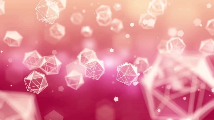Magical Crystal Background: Stock Motion Graphics
