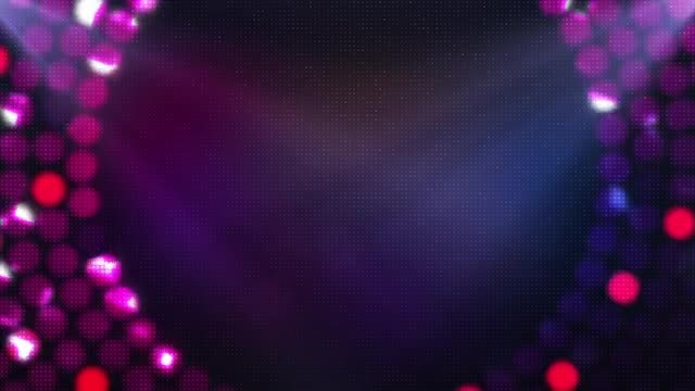 LED Style Background: Stock Motion Graphics