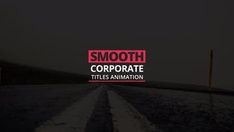 Titles Animation: After Effects Templates