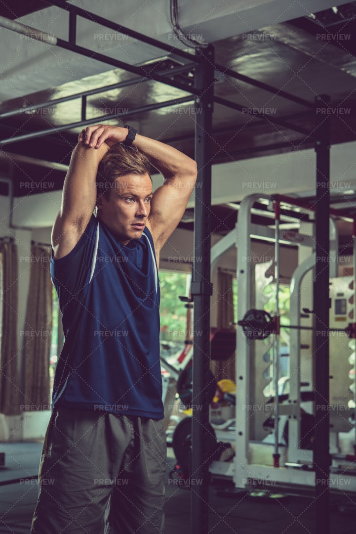 Stretching Arms: Stock Photos