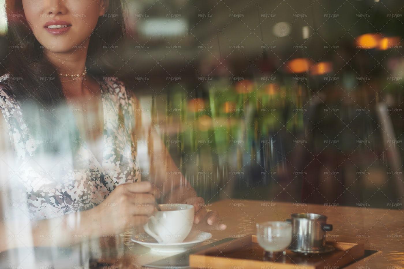 Cappuccino In The Morning: Stock Photos