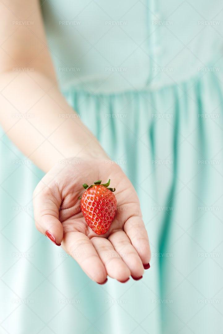Take A Strawberry: Stock Photos
