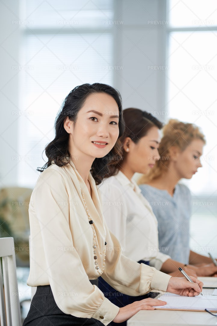Attending Business Conference: Stock Photos