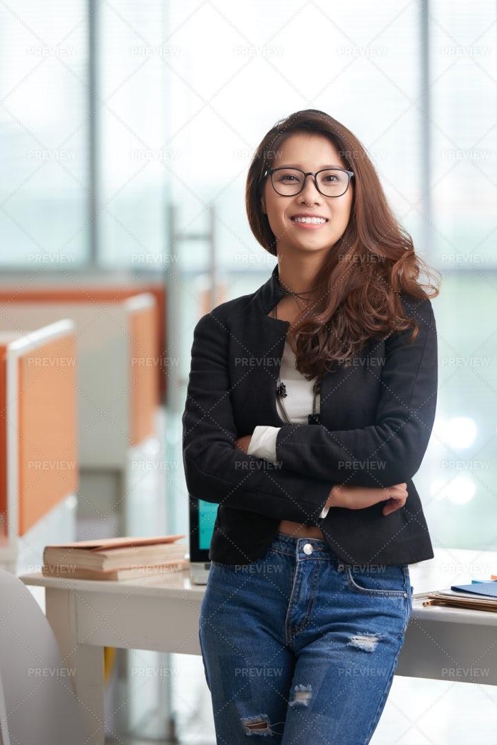 Pretty College Student: Stock Photos
