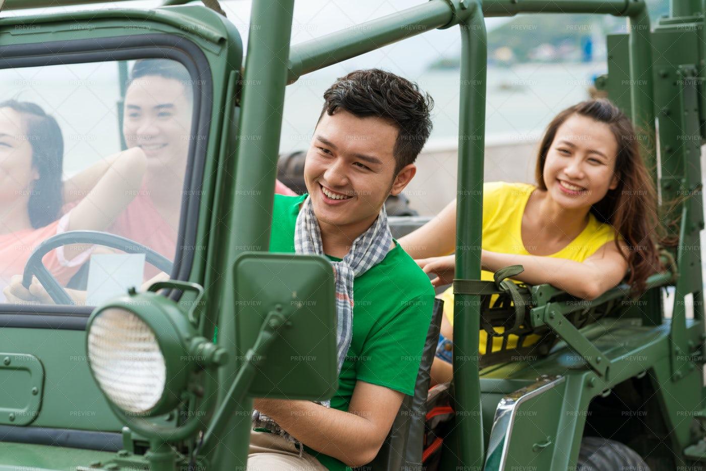 Driving On Car: Stock Photos