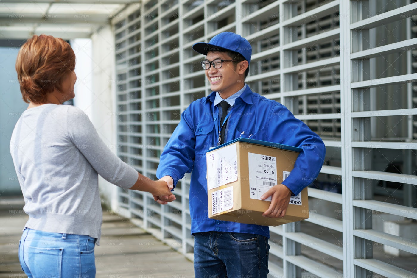 Delivery Service: Stock Photos