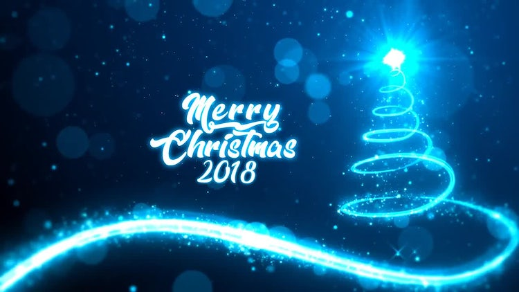 Christmas Glittering: After Effects Templates